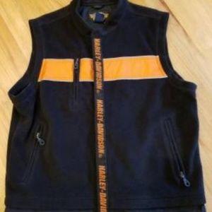 HarleyDavidsonTHICK reflective fleece vest